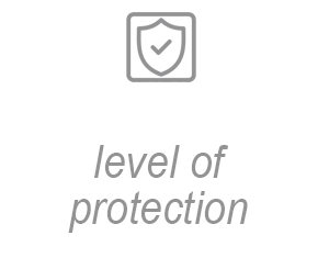 Level of protection