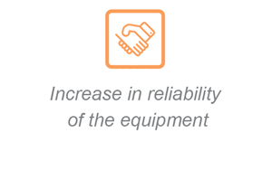 Increase in reliability of the equipment
