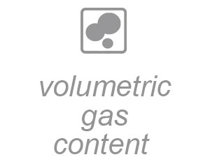 volumetric gas content
